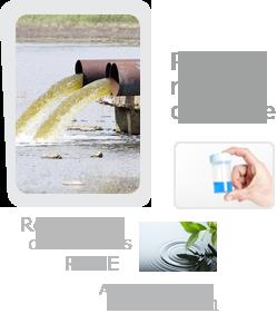 Pas de Rejet chimique, respect RSDE, ICPE 2921